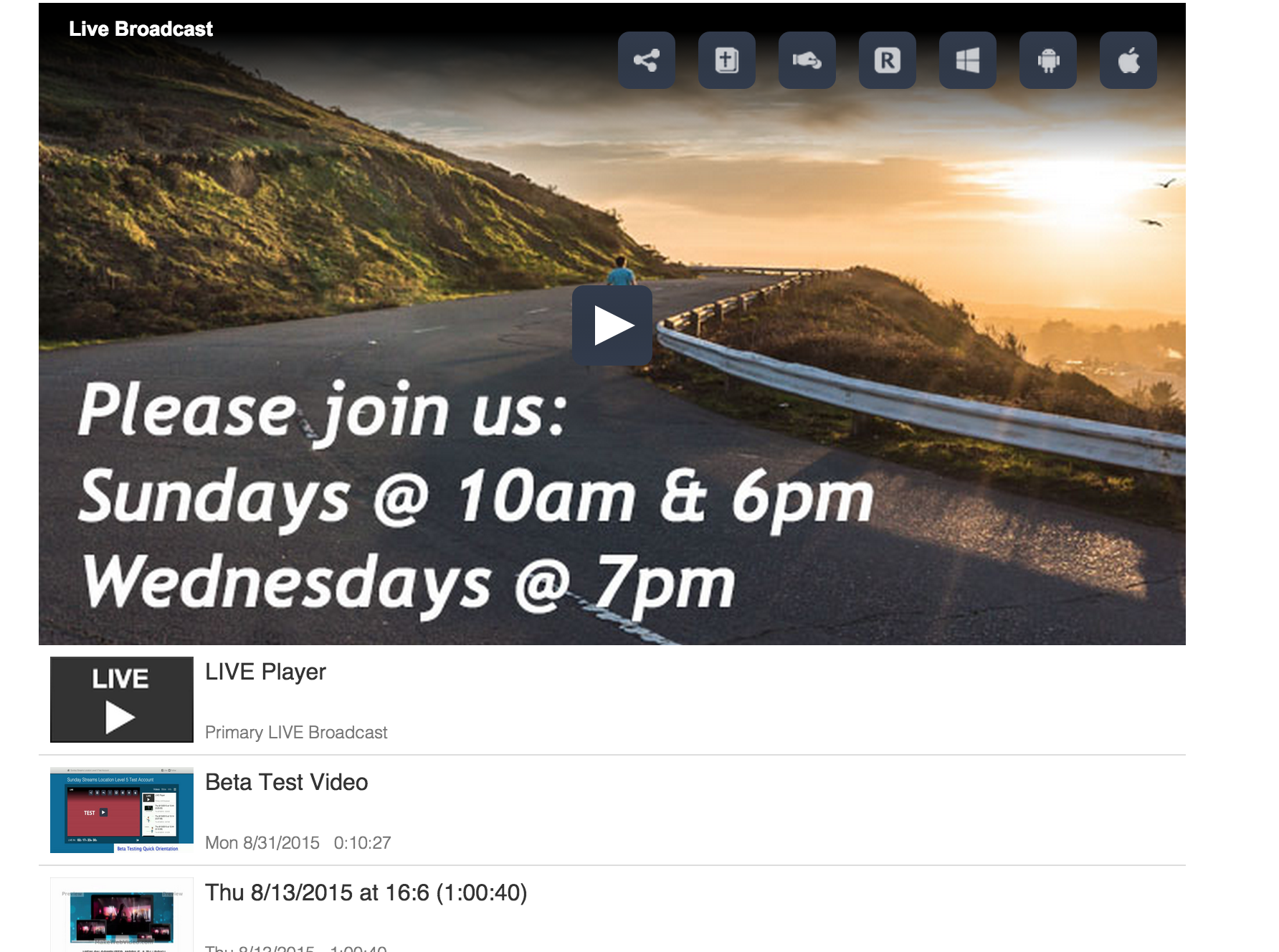how to embed live streaming video on your website